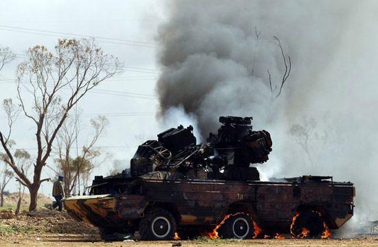 利比亚战事前缘后果(二)